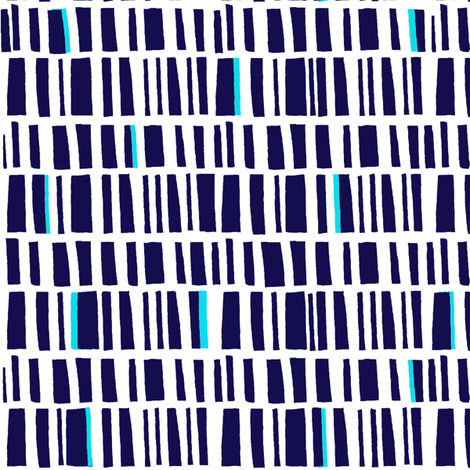 blue inversion fabric by lola_designs on Spoonflower - custom fabric
