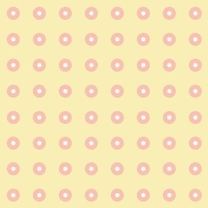 Warm Yellow Dots