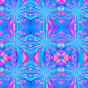Star Swirl Blue/Pink