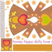 honey hippy dolly love dress