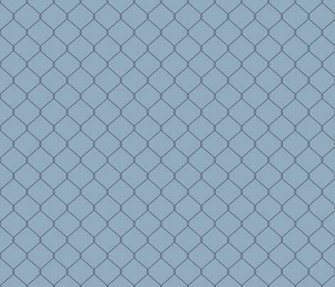 No Easy Way Out (Light Blue) fabric by leighr on Spoonflower - custom fabric