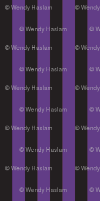 Halloween black/purple stripe