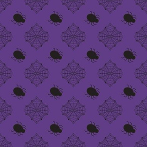 Halloween Spider Purple