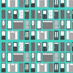 doors grey