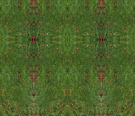 Green Moss  fabric by dandelion on Spoonflower - custom fabric