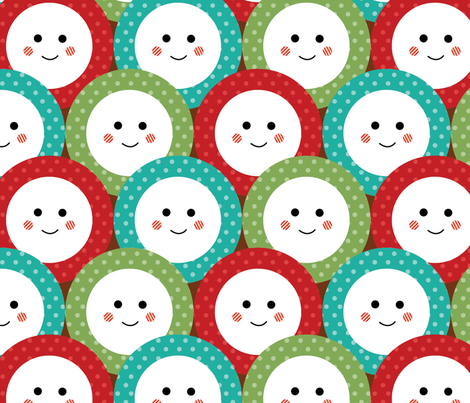 awwwwww fabric by mariapopia on Spoonflower - custom fabric