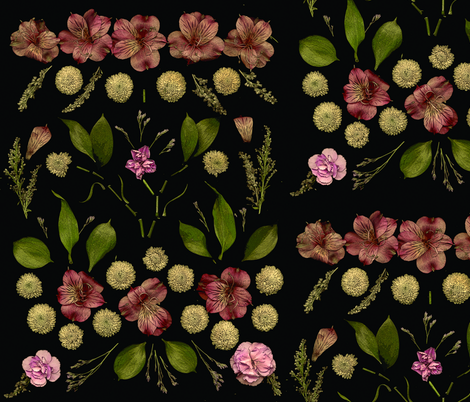 flowersfull_flat fabric by niconico on Spoonflower - custom fabric