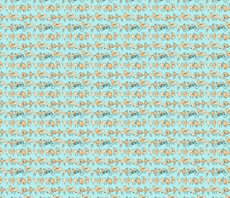 toasted marshmallows fabric by babysisterrae on Spoonflower - custom fabric