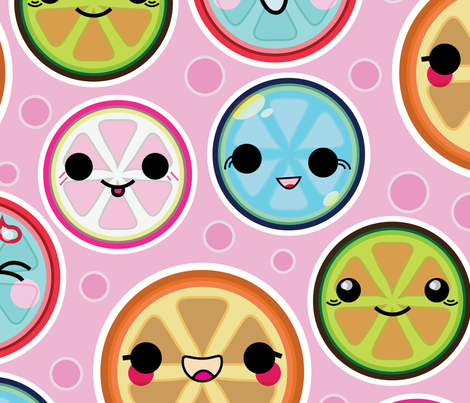 kawaii fabric by matthandlersux on Spoonflower - custom fabric