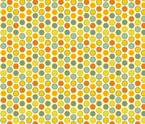 lime dots fabric by elvett11 on Spoonflower - custom fabric