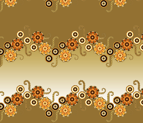 Oddbot Calico fabric by joanmclemore on Spoonflower - custom fabric