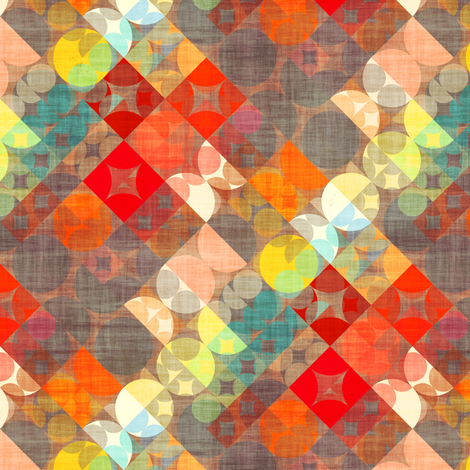 Not Your Mama's Plaid fabric by joanmclemore on Spoonflower - custom fabric