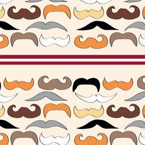moustache parade