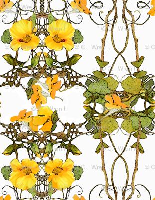 yellow_nasturtium_pattern