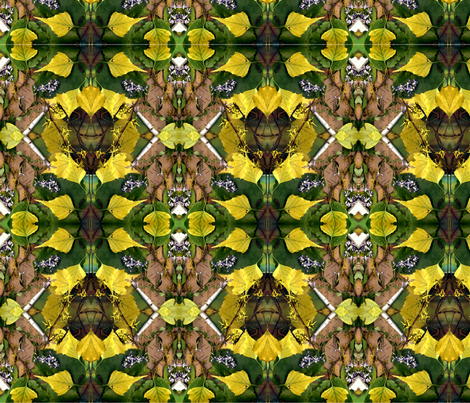 In the Forest fabric by rubyrice on Spoonflower - custom fabric