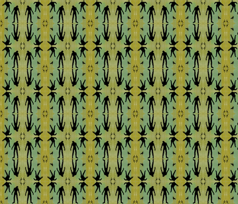 Classy Zombies. fabric by jodirenshaw on Spoonflower - custom fabric