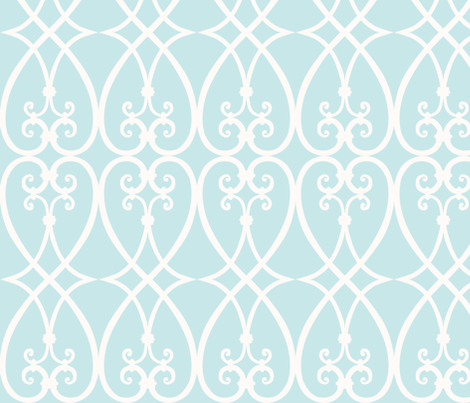 something blue fabric by minimiel on Spoonflower - custom fabric