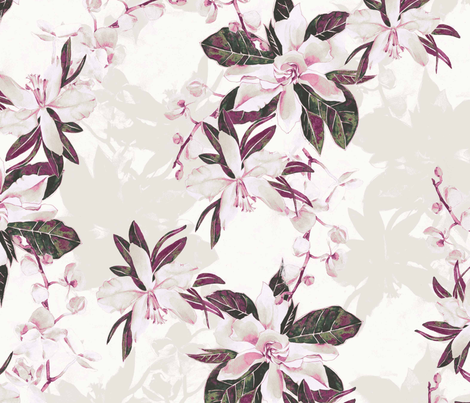 Oriental Bliss fabric by laurajm28 on Spoonflower - custom fabric
