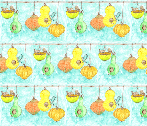 welcome (full color) fabric by erin_lebeau on Spoonflower - custom fabric
