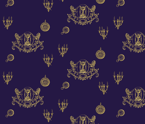 Lestat de Lioncourt  fabric by rykan on Spoonflower - custom fabric