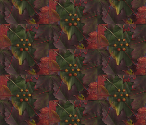 Autumn_Flowering_001 fabric by eatsleepsew on Spoonflower - custom fabric