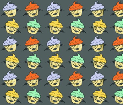 batty cakes fabric by annaboo on Spoonflower - custom fabric