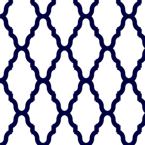 Blue Lattice Lg