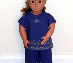 Beautiful Dreamer 18 inch Doll Loungewear