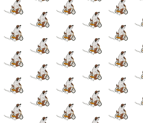 one czech dog fabric by czechmate_diary on Spoonflower - custom fabric