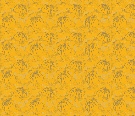 Gourds' land fabric by majobv on Spoonflower - custom fabric