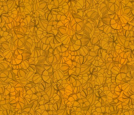 rapport_calabazas fabric by vireta on Spoonflower - custom fabric