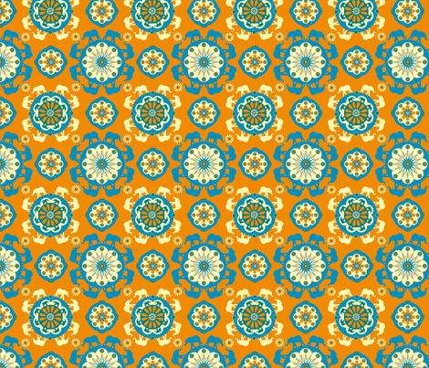 whorange fabric by royalforest on Spoonflower - custom fabric