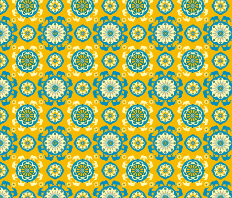 circus_peanut fabric by royalforest on Spoonflower - custom fabric