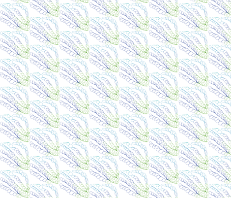 seaweed fabric by luluhoo on Spoonflower - custom fabric