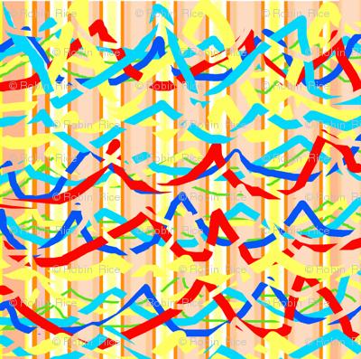 Ribbon Waves and Stripes