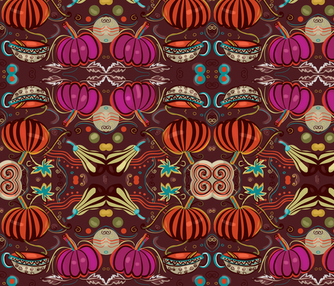 gourds fabric by koala_prints on Spoonflower - custom fabric