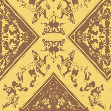 Circus-bicolore fabric by nalo_hopkinson on Spoonflower - custom fabric