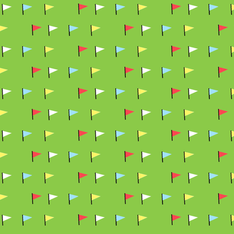 Flag (green) fabric by anda on Spoonflower - custom fabric
