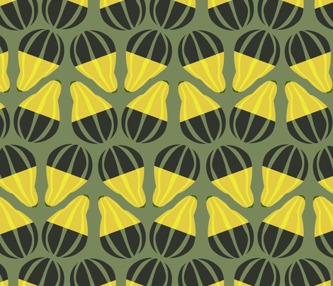 gourds_and_more_gourds fabric by mariapopia on Spoonflower - custom fabric