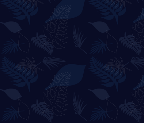 Leaf 008 fabric by lowa84 on Spoonflower - custom fabric
