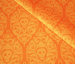 Spooky Damask - Orange