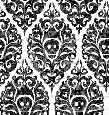Spooky Damask - Decay