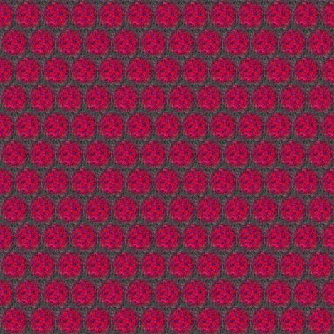 Fantasie Red Beads fabric by angelgreen on Spoonflower - custom fabric