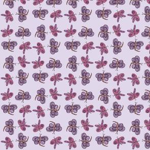 Purple & Pink Butterflies-ch
