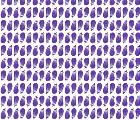 Eggplants fabric by siya on Spoonflower - custom fabric
