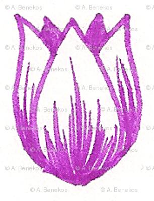 Doodle Tulip
