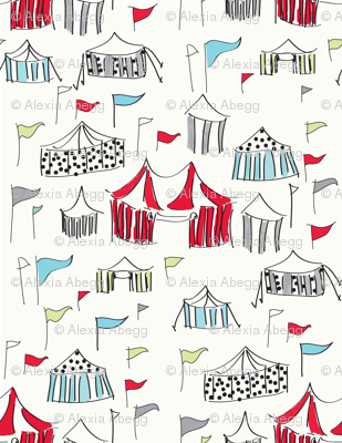 Big Top Circus - Red Colorway