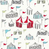 Big Top Circus - Red Colorway