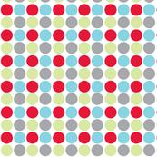Circus Dot - Red