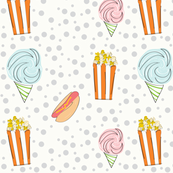 Circus Snacks Orange Colorway